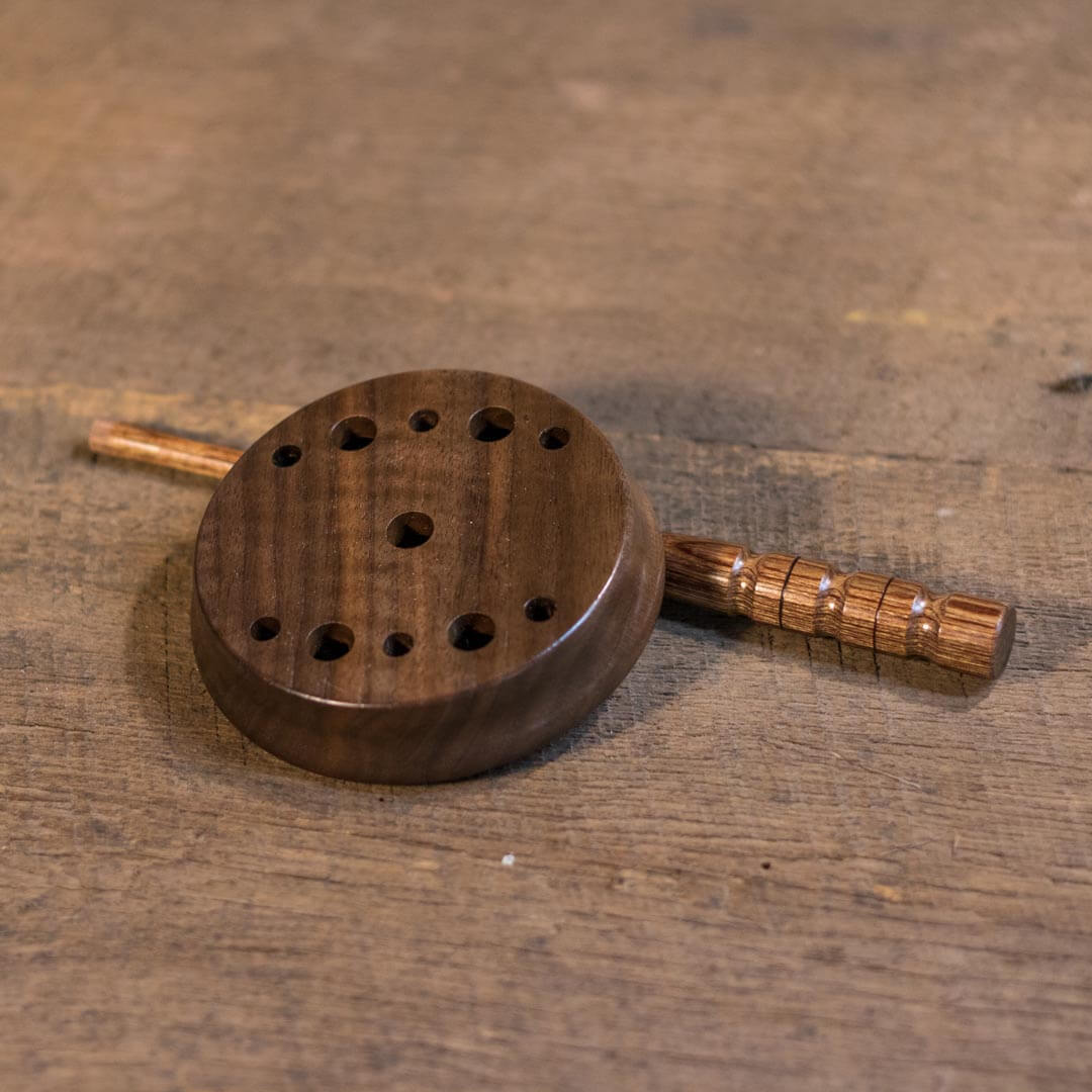 """5 Three 3/"""" Maple Sound Boards for Turkey Pot Friction Calls"""