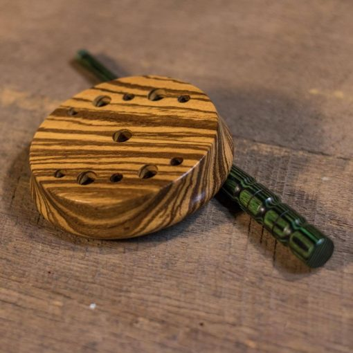 Zebrawood Slate Custom Turkey Call from Mountain Music Game Calls
